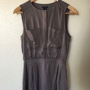Theory silk shift dress 👗